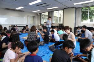 2019.7.28 夏のわくわく木工教室