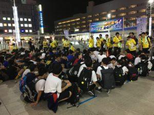 2019.8.24-25 柏中学区 オーバーナイトハイク(ONH)